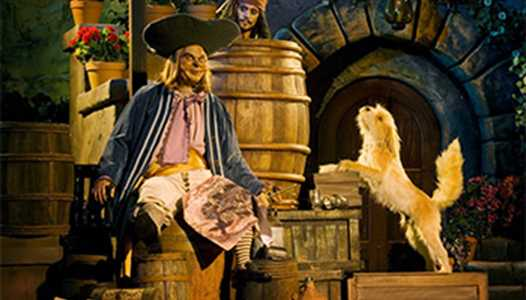 VIDEO - Take a ride through of the new auction scene at Pirates of the Caribbean