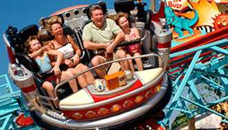 Primeval Whirl at Disney's Animal Kingdom experiencing extended downtime