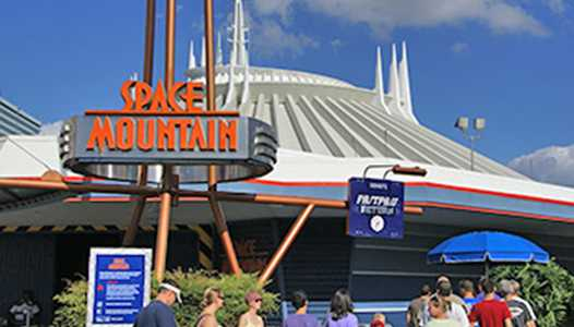 VIDEO - Take a holiday trip through the cosmos on-board the special edition party night Space Mountain