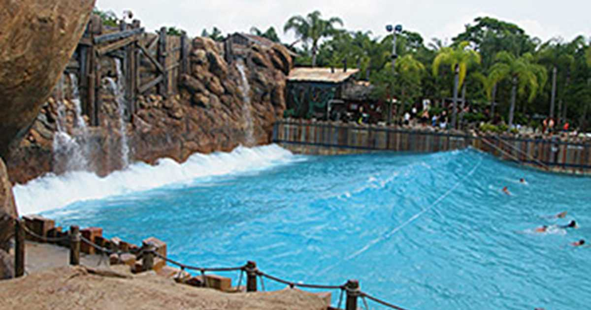 Typhoon Lagoon Wave Pool Reviews