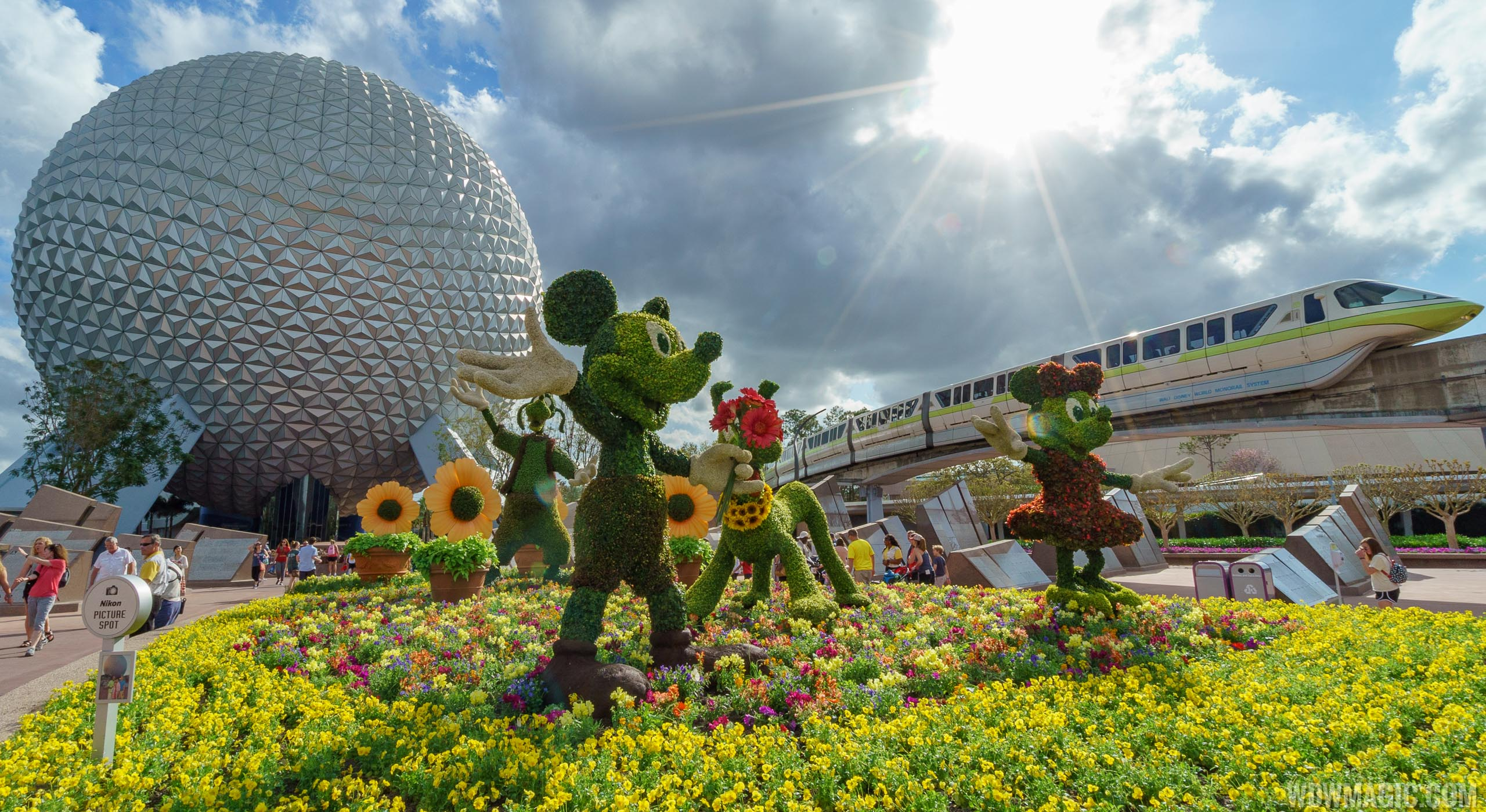 Pictures from the 2018 Epcot International Flower and Garden Festival
