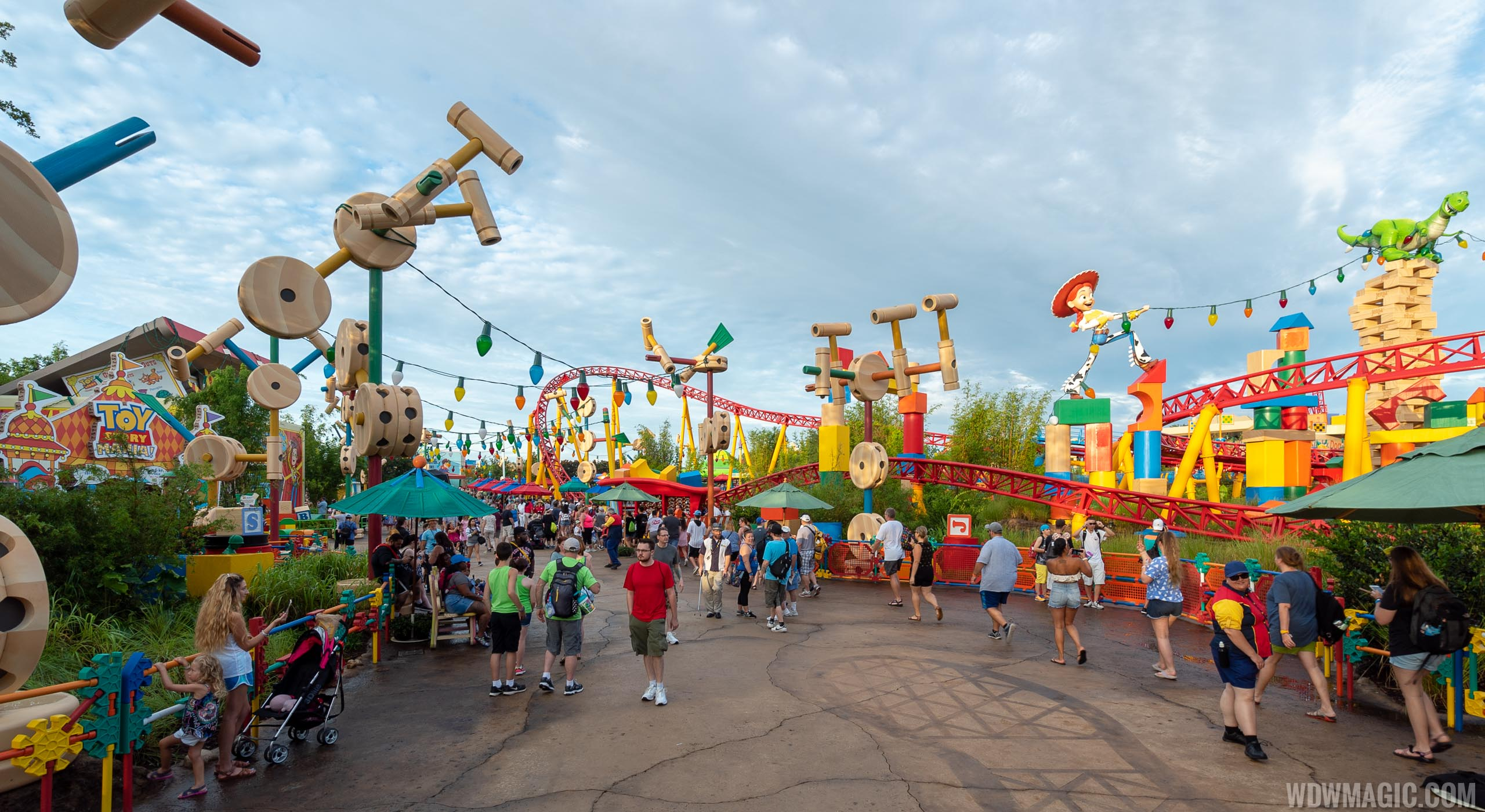 Toy Story Land Opening Coverage