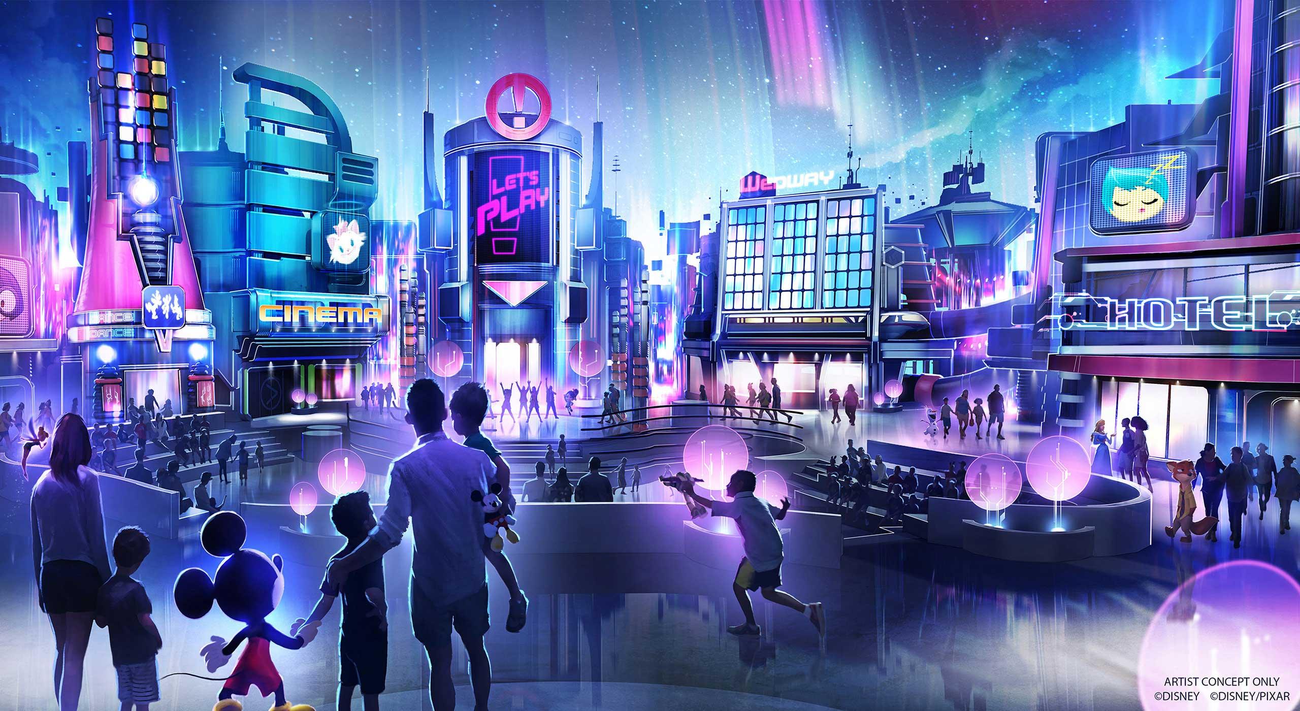 Disney reveals more of Epcot's redevelopment