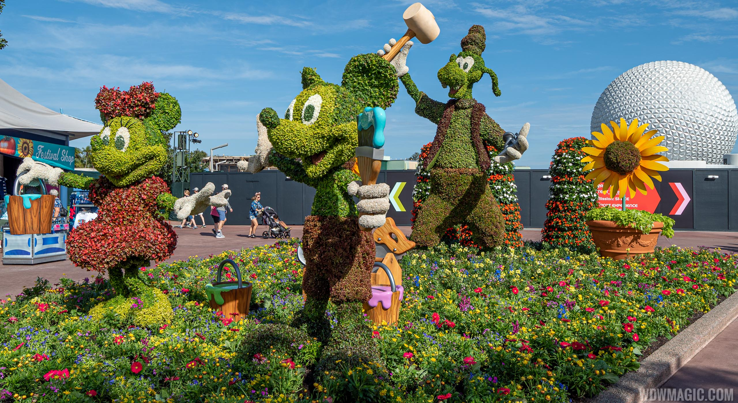VIDEO - The best of the 2020 Epcot Flower and Garden Festival